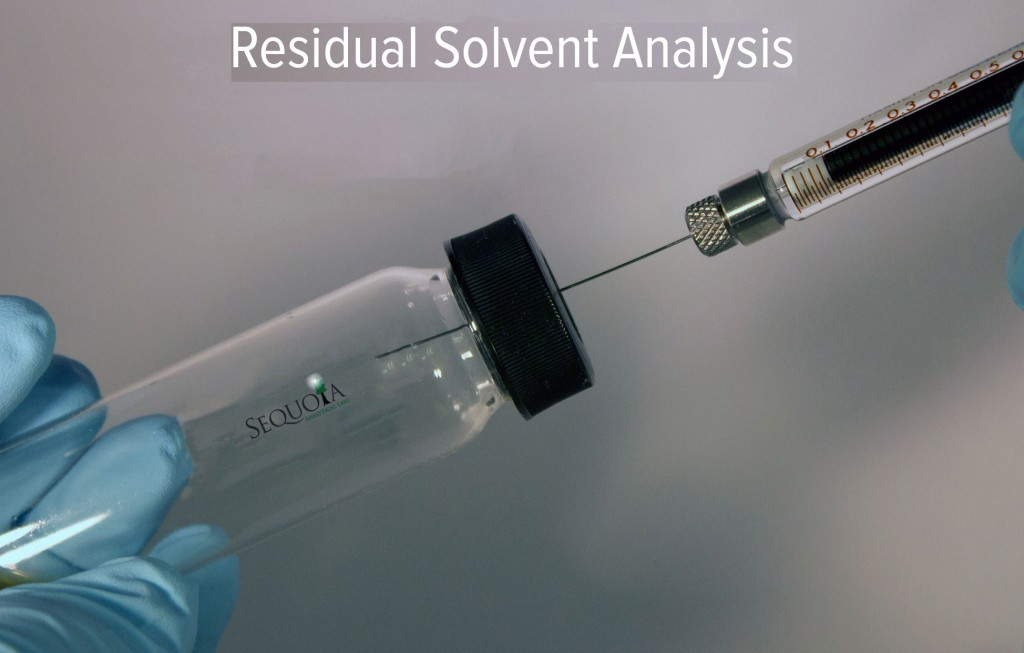 determination of residual solvents by analytical The purpose of this brief review is to describe and discuss some of the current analytic procedures including gas-chromatographic and alternative techniques for residual solvent testing.